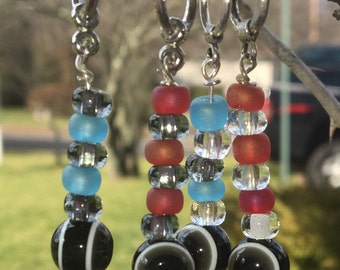 Knitting Stitch Markers Set of 4 Multicolors