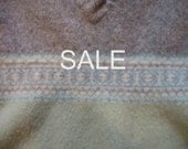 SALE - Supply - Felted Wool Sweater - Light Green1 - Recycled Fabric Material