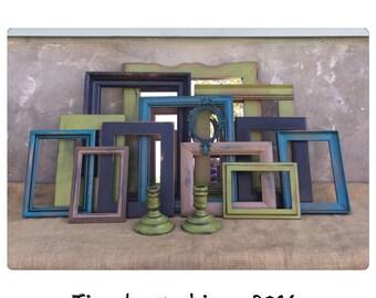 Picture Frame - Picture Frame Set - Picture Frames - Wood Picture Frame - Bohemian Decor - Rustic Decor - CHIC
