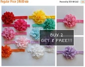 SALE Baby Headband -Baby Girl Headband Flower Headband Photography Prop 10 Pack BUY 2 GET 8 Free Headbands