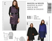 Make a Warm Coat for a Cold Winter - Burda 6986 - New Sewing Pattern, Sizes 10, 12, 14, 16, 18, and 20