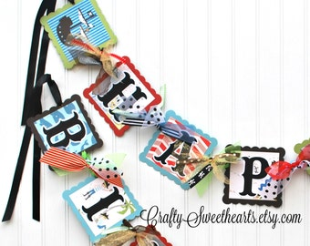 Pirate Birthday Party Banner Decoration