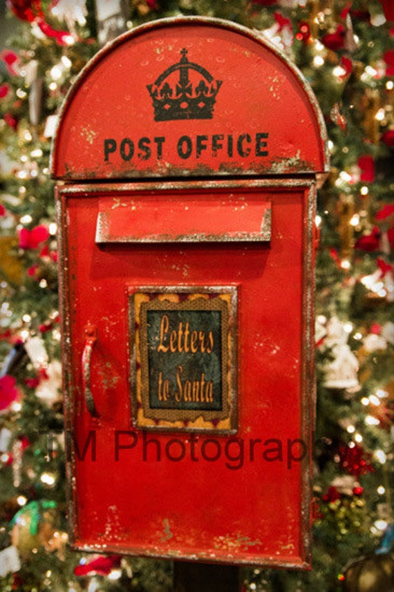 letters to santa mailboxes items similar to letters to santa santa mailbox 8238