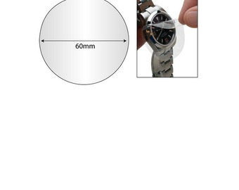 Protective Film Tape 66mm Precut Circles Great For Watches