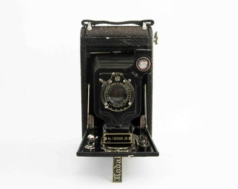 Antique No. 1A Autographic Kodak Jr. Camera. Circa 1910's - 1920's