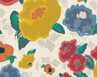 Ad Lib Blooms Shout Artisan by Pat Bravo Art Gallery Fabric