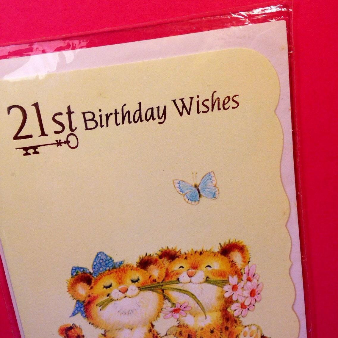 21st birthday card vintage birthday card 21st birthday wishes 21st birthday card vintage birthday card 21st birthday wishes vintage greeting card kristyandbryce Images