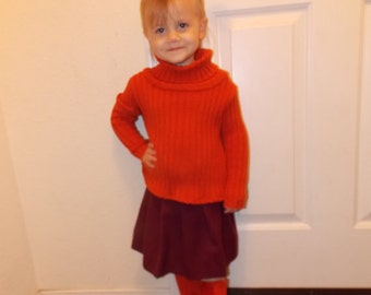 Custom made to order Velma little girls out fit