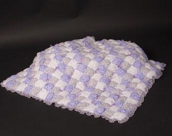 Lavender Puff Quilt Kit