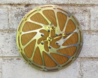 Recycled SRAM Bicycle Disc Brake Wall Clock