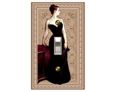 0769a  Madame X design mrs butler switchplates  (Choose size/price from dropdown)
