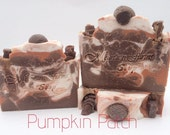 Pumpkin Patch-ON SALE-Handmade Artisan-Cold Process-Soap-Luxurious-Fall-Pumpkin-Soap- Gift for Her-Abbotsford-BC-Canada