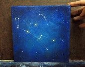 SPECIAL ORDER reserved for Jess - Original Painting - Orion Constellation