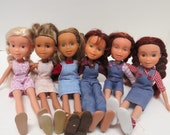 "Overalls and Jumper Pattern Tutorial Pictorial PDF Doll Clothes Fits 9""  Bratz Licca Jenny Blythe Skipper  Fashion Dolls"