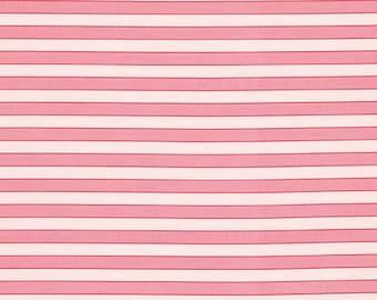 Free Spirit Verna Mosquera -ROSEWATER-CABANA Stripe - Cotton PWVM112   1 YD Cut