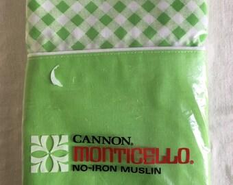 Vintage canon pillowcase set / nip / nos