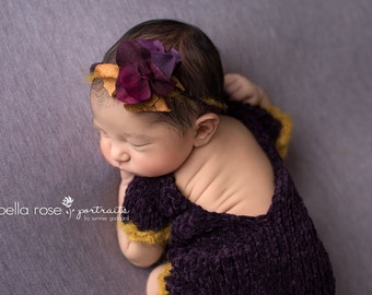 Long Sleeve Body Suit Newborn Baby Girl Photo Prop Velvet Knitted Outfit Boy Infant Photography Going Home Romper Hand Knit Onepiece Coming