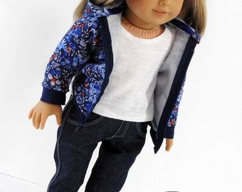 18 Inch Doll Hoodie for American Girl