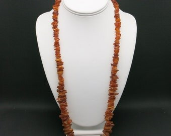 Baltic amber necklace CHUNKS of natural amber
