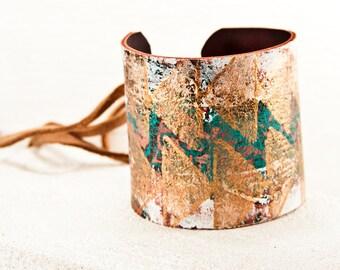 Bohemian Bracelet Gypsy Jewelry - Hippie Fashion Boho Accessories - Unique Original OOAK