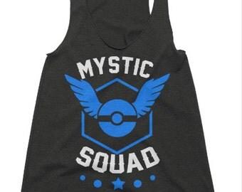 Mystic Squad Tri-Blend Racerback Tank