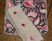 Cowgirl Car Seat Strap Covers