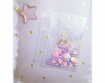 Agenda shaker card rapunzel for planner