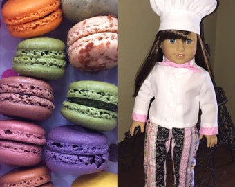 18 Inch Doll Clothes Grace Inspired Chef Outfit Ready to Ship