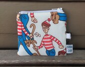 Where's Waldo Mini Wallet with ID Holder Recycled