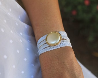 Something Blue Jewelry, Bridal Gift, Unique Bridal Jewelry, Bride to be Gift, Bride Gift Idea, Bride Bracelet, Bride Jewelry