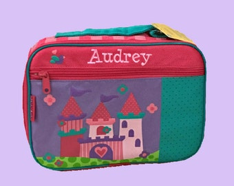 Stephen Joseph Child's PRINCESS CASTLE Themed Lunchbox Personalized For Free