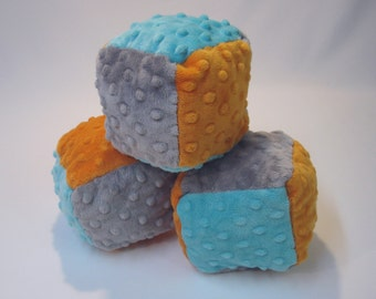 Soft Fabric Baby Blocks