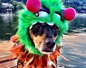 Monster Costume Hat for Cats and Dogs