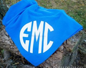 Monogram Sweatshirt Blanket | Monogram Blanket | Sweatshirt Blanket | Teen Gift | Christmas Gift | Stadium Blanket | Personalized Blanket