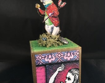 Alice in Wonderland: White Rabbit Block