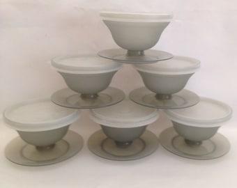 Tupperware Dessert Bowls with Lids