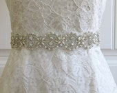 Pearl Crystal Rhinestone Bridal Belt,Wedding Belt,Bridal Sash,Bridal Accessories,Bridal Belt,Style #03