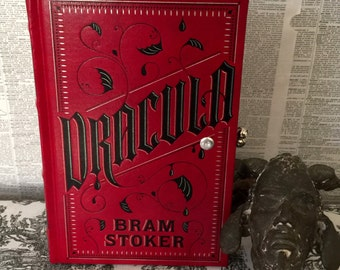 Book Clutch Dracula by Bram Stoker Gothic Book Purse Made to Order