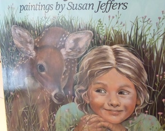 Vintage Childrens Forest of Dreams by Rosemary Wells paintings by Susan Jeffers