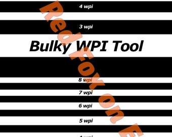 Bulky WPI Tool (Print Your Own PDF)