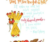 Autumn Printable, Fall Printable, Don't you love New York in the fall? Quote, Handlettered Quote