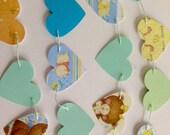 Baby Garland Nursery Rhymes Hearts