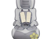 Baby Car Seat Strap Covers { Aubade Collection } Ivory Gold Metallic hexagon starburst