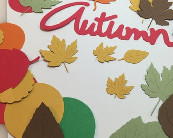 Fall Leaves Confetti ....Autumn Party Table Decorations Table Confetti ..Autumn Leaves Confetti