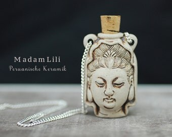 Guanyin Ceramic chain with fragrance
