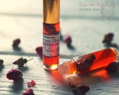 Organic Rose Perfume Oil - Botanical Vegan Perfume - Natural Victorian Floral aroma - Date with Rose