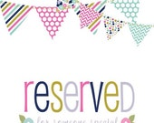 Reserved for Rachel U.