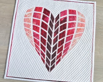 Heart Quilt Pattern- quilt for Valentine's Day