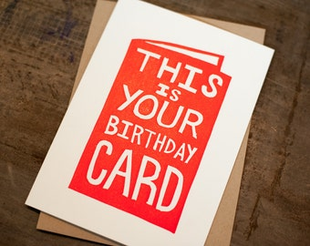This is Your Birthday Card