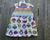 Little Owls Sisters Collection Aline Dress